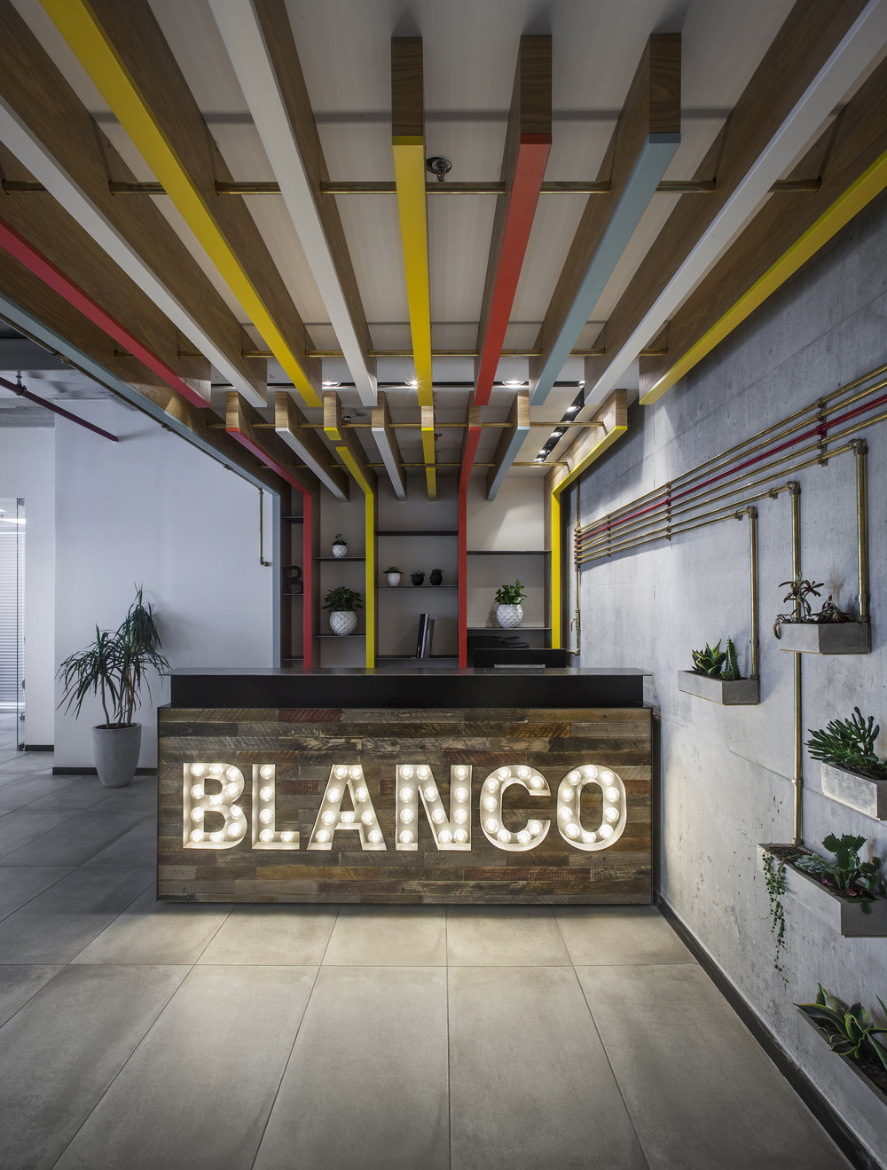 BLANCO   Blanco is a revolutionary advertising company   specializing in projects from varied fields. As the company started getting bigger they partnered up with Roy David Studio to create their new ...