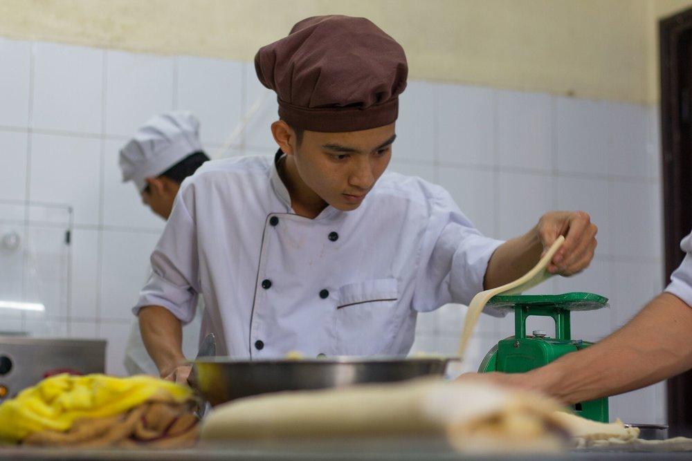 French Bakery and Pastry school in Ho Chi Minh City///L'école de boulangerie-pâtisserie à Hô-Chi-Minh-Ville///Trường đào tạo bánh mì & bánh ngọt Pháp tại TP. Hồ Chí Minh