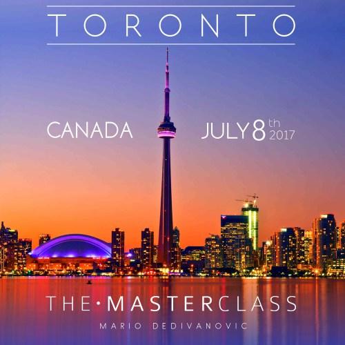 Mario Toronto MasterClass 2017