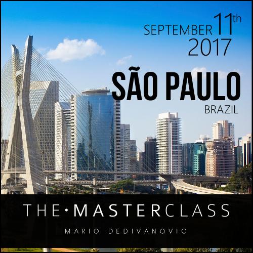 Mario Sao Paolo MasterClass 2017