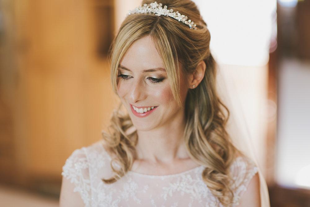 Sarah Jinks wedding day makeup application at Swancar Farm.jpg
