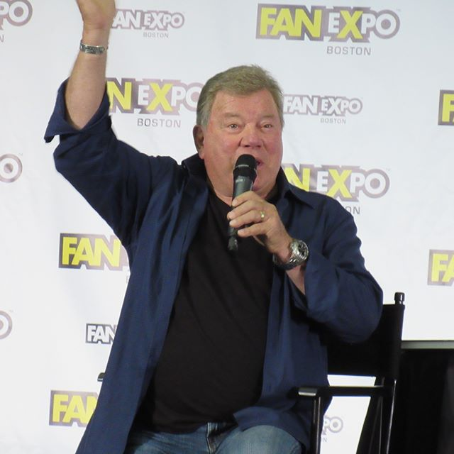 James Tiberius Kirk #bostoncomiccon #fxb2018 #fanexpoboston #williamshatner