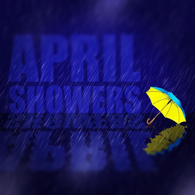 April showers sketch for @53sketch #aprilshowers