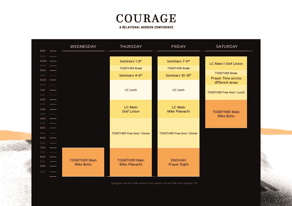 Click image to view or download a PDF of the LEADERSHIP schedule.