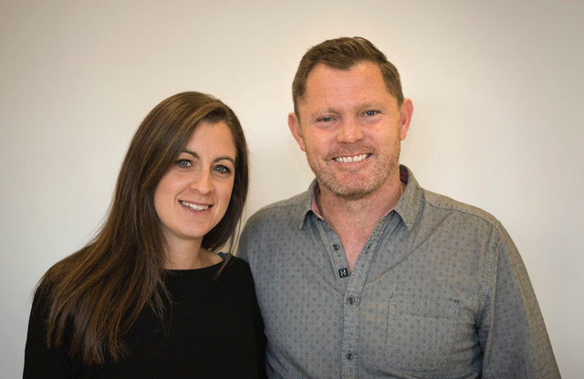 Hugh and Claire Pearce lead the Redeemer team