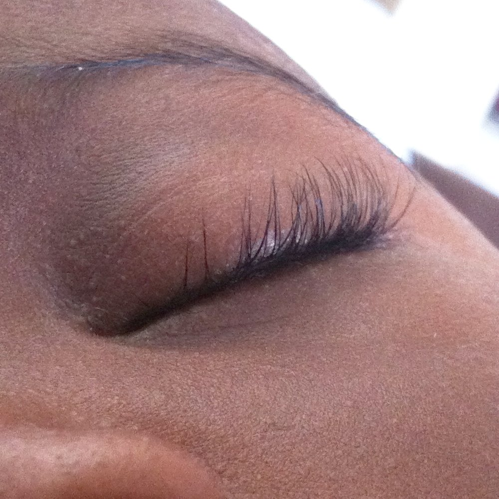 OMG...those lashes!