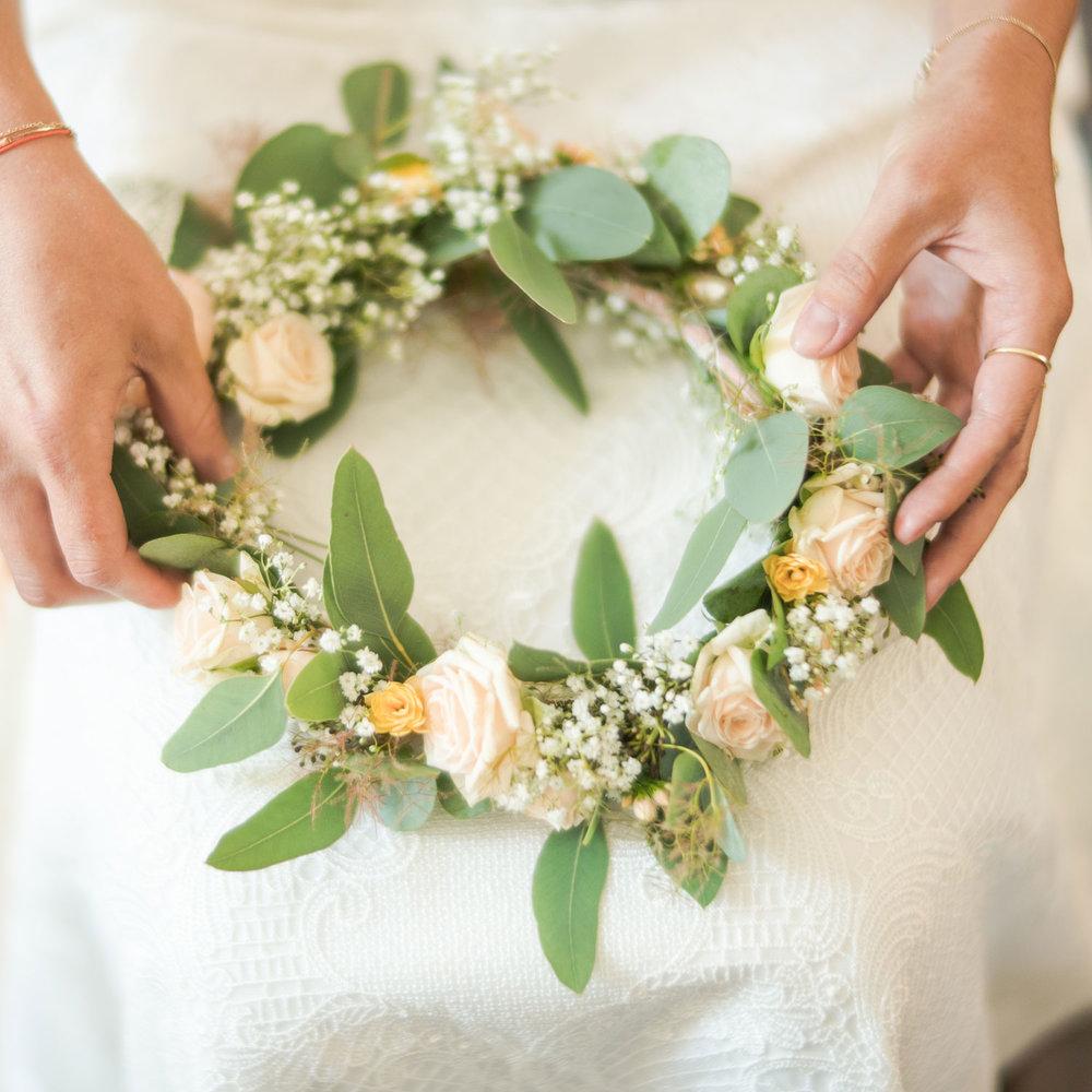 Jimmy Fotobus Hochzeitsfotografie Hochzeit Fotografie Blumenkranz Boho Fotobox