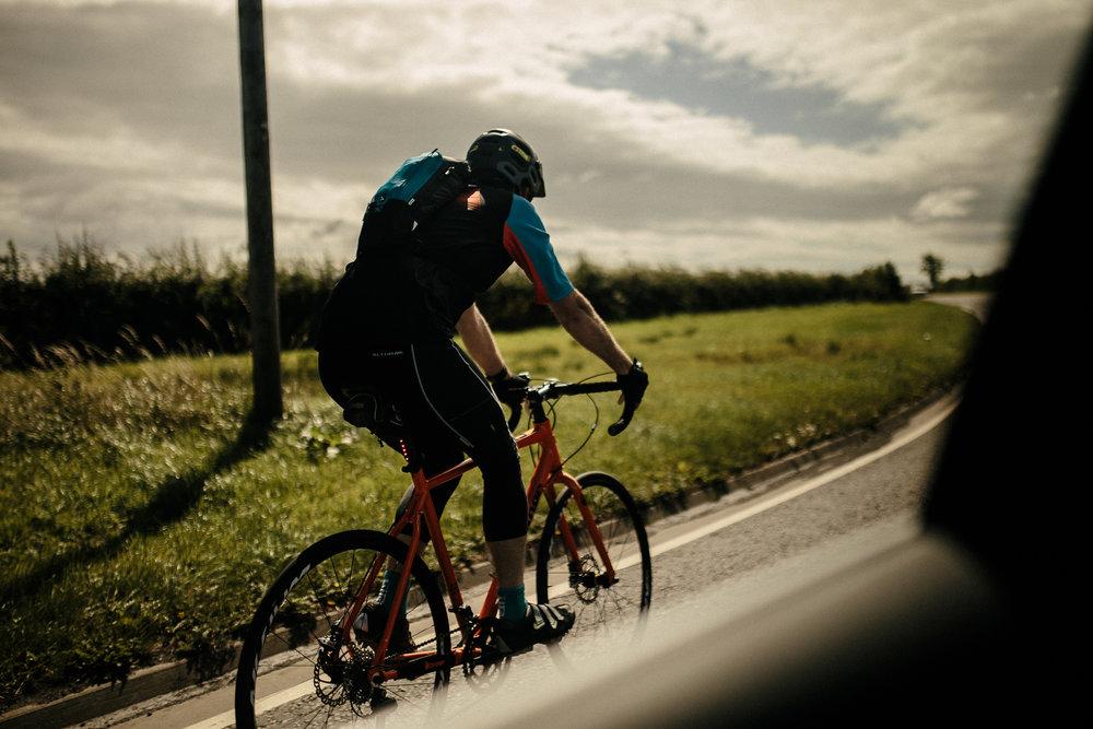 scotland cyclist