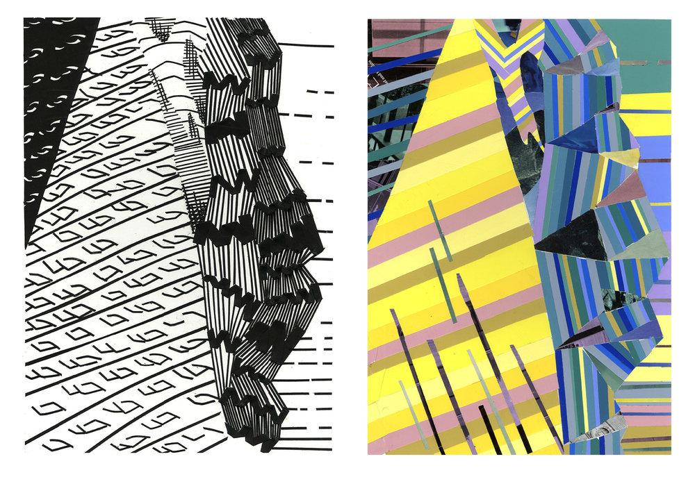E. Tarner, Color & 2D Design, Photo Translation: Color Aid, Black Paper, Indiana University, 2014