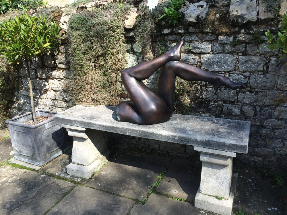 All About the Legs - Ightham Mote