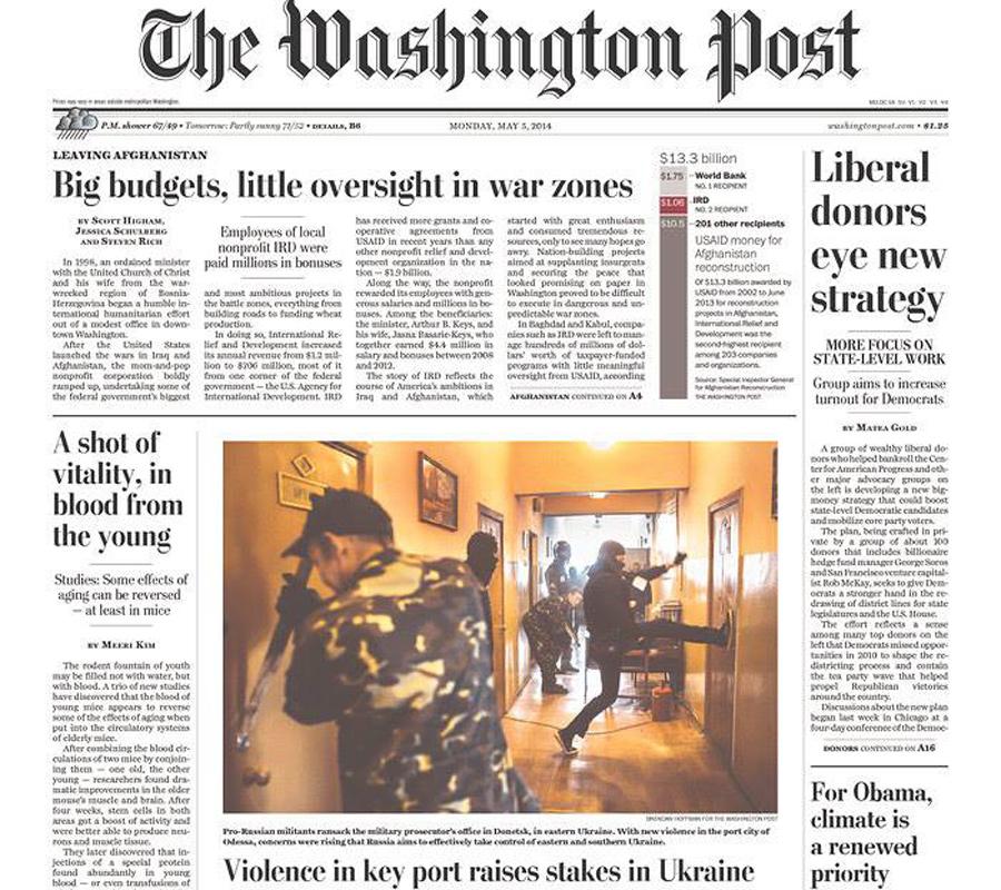 The Washington Post, 5 May 2014