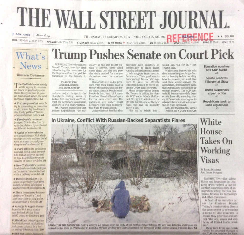 The Wall Street Journal, 2 February 2017