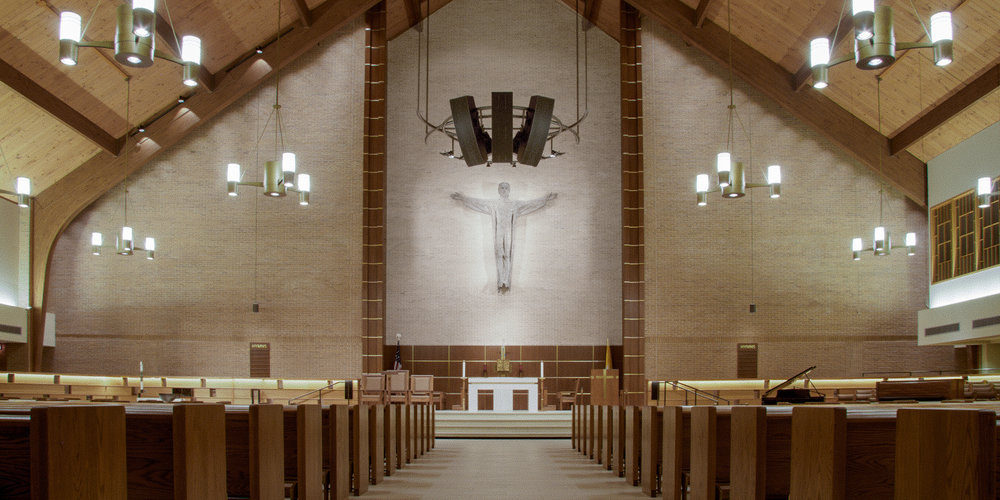 St. Patricks Catholic Church, Dallas Texas. Install by Infinity Sound of Grand Prairie Texas.