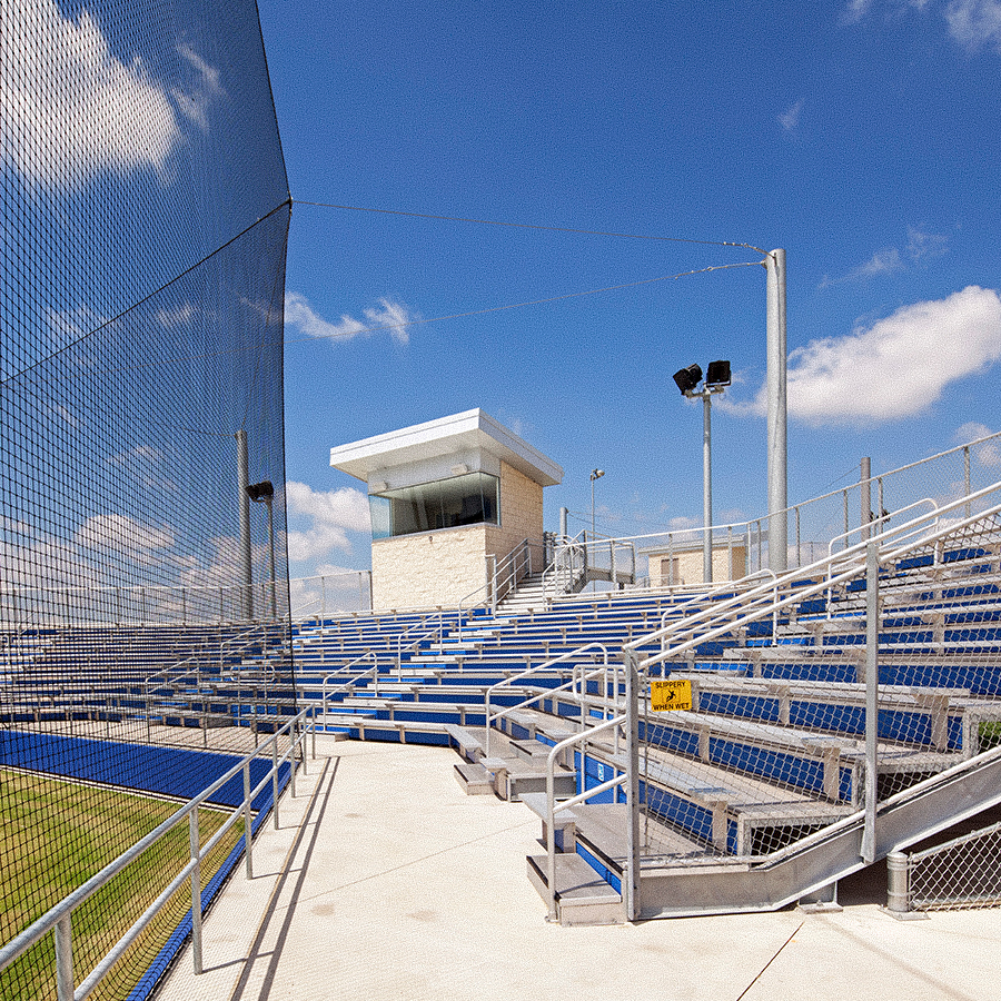 Midlothian Heritage High School Midlothian, Texas. Instal by Infinity Sound of Grand Prairie Texas.