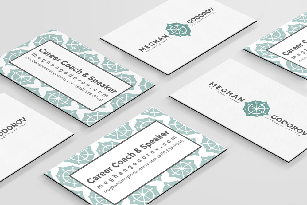 Business Card design for a Career Coach