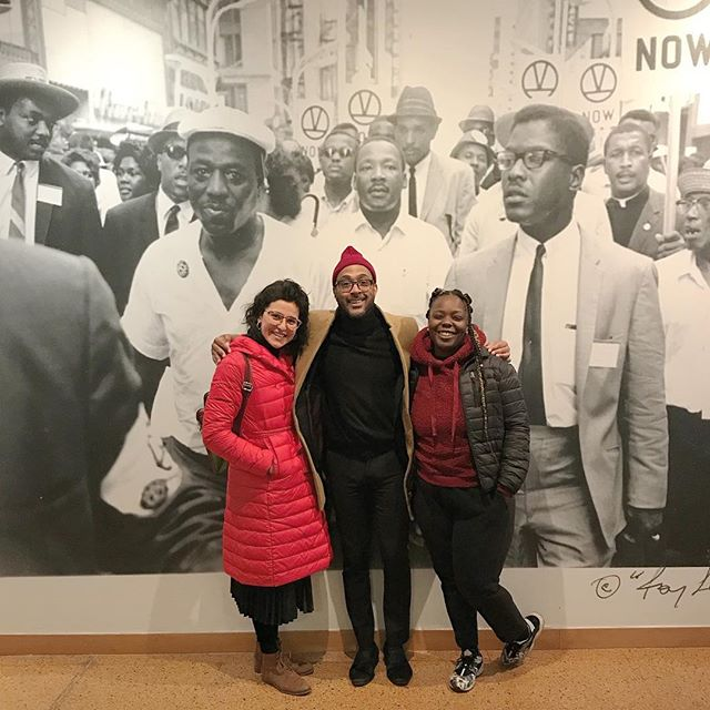 If you find yourself in Harlem be sure to stop by the MLK Exhibition at @schomburgcenter it will be up until April.