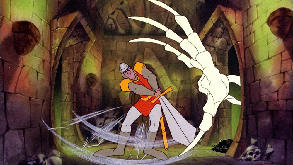 From Don Bluth's Dragon's Lair