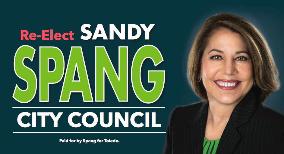 Sandy Spang for Toledo