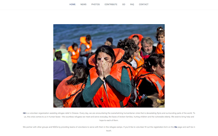 i58 Refugee Relief, Greece - i58 is an Anabaptist nonprofit organization assisting refugees on Lesbos Island, Greece. Their mission is to reach out to those who have been forced to flee due to the ongoing war across Syria and other parts of the world.