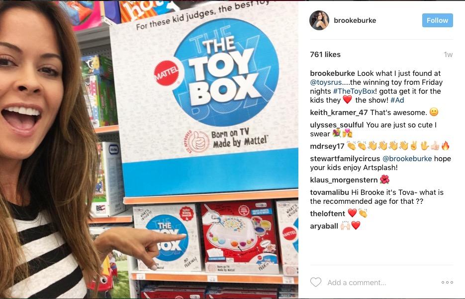 Brooke Burke X Toy Box