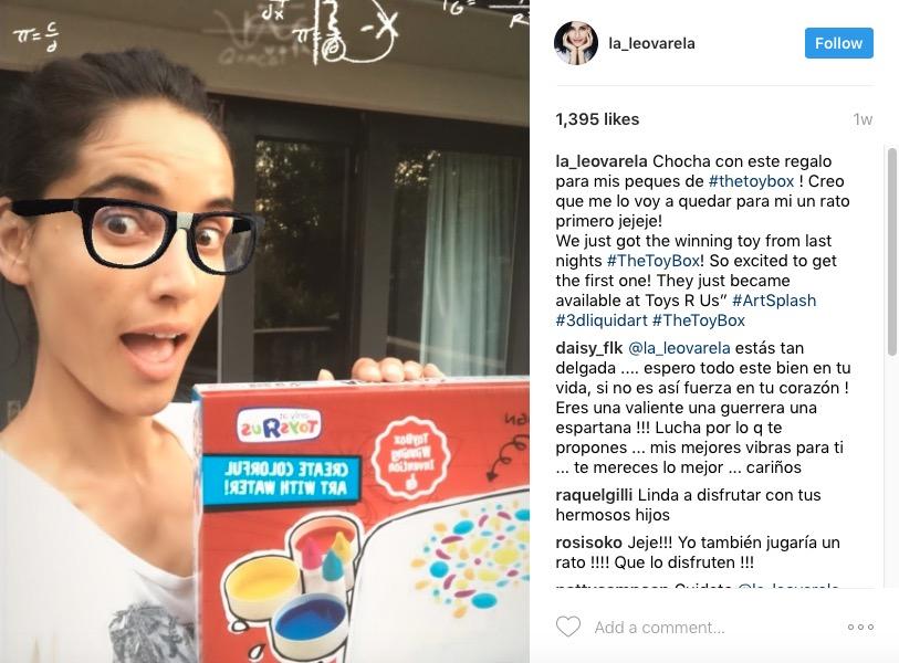 Leonor Varela X Toy Box