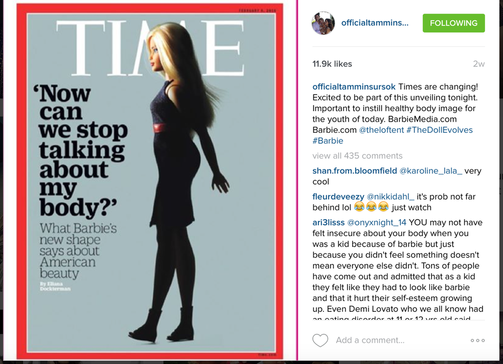 Tammin Sursok X Barbie