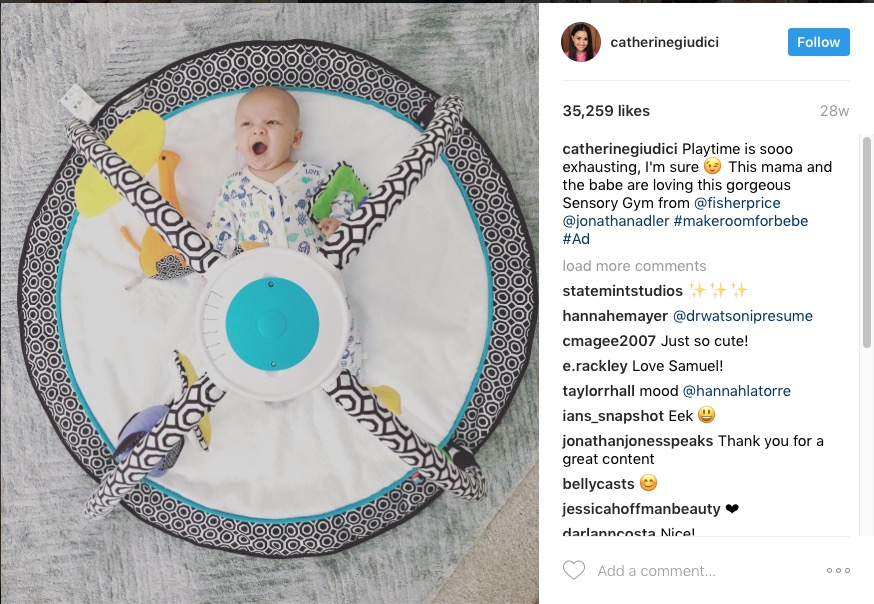 Catherine Giudici X Fisher Price