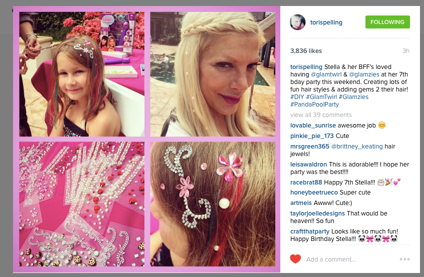 Tori Spelling X Charmsies