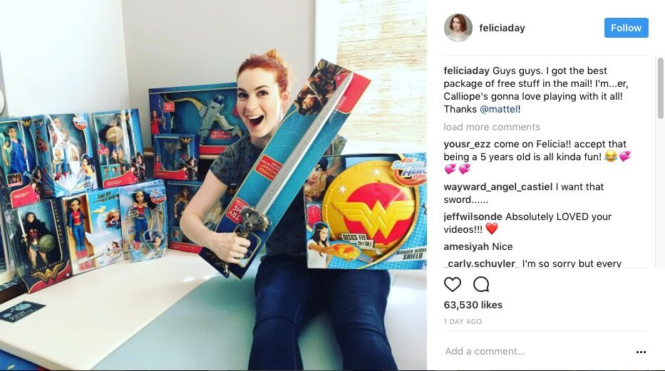 Felicia Day X Mattel