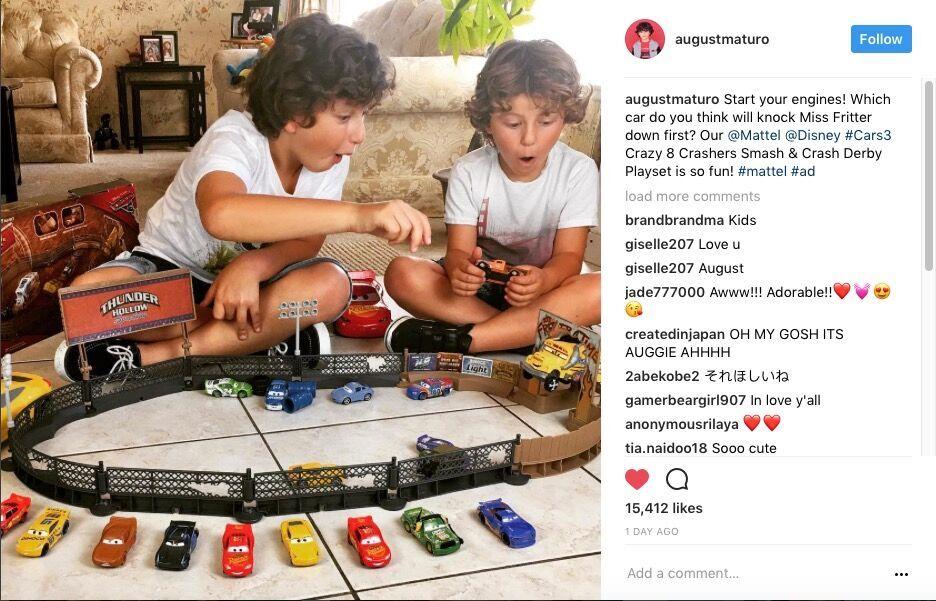 August Maturo x Cars 3