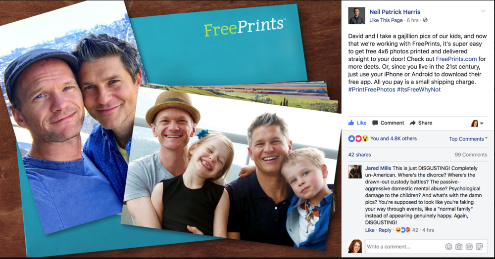 free prints x Neil Patrick Harris