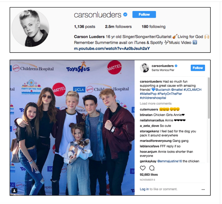 Carson Lueders x Party On The Pier