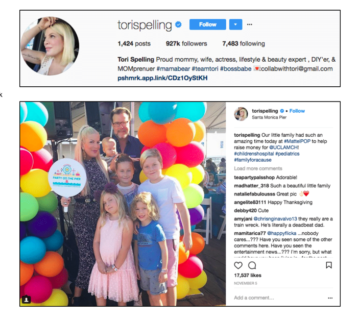 Tori Spelling x Party On The Pier