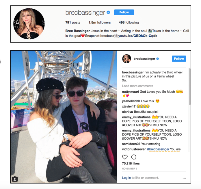 Brec Bassinger x Party On The Pier