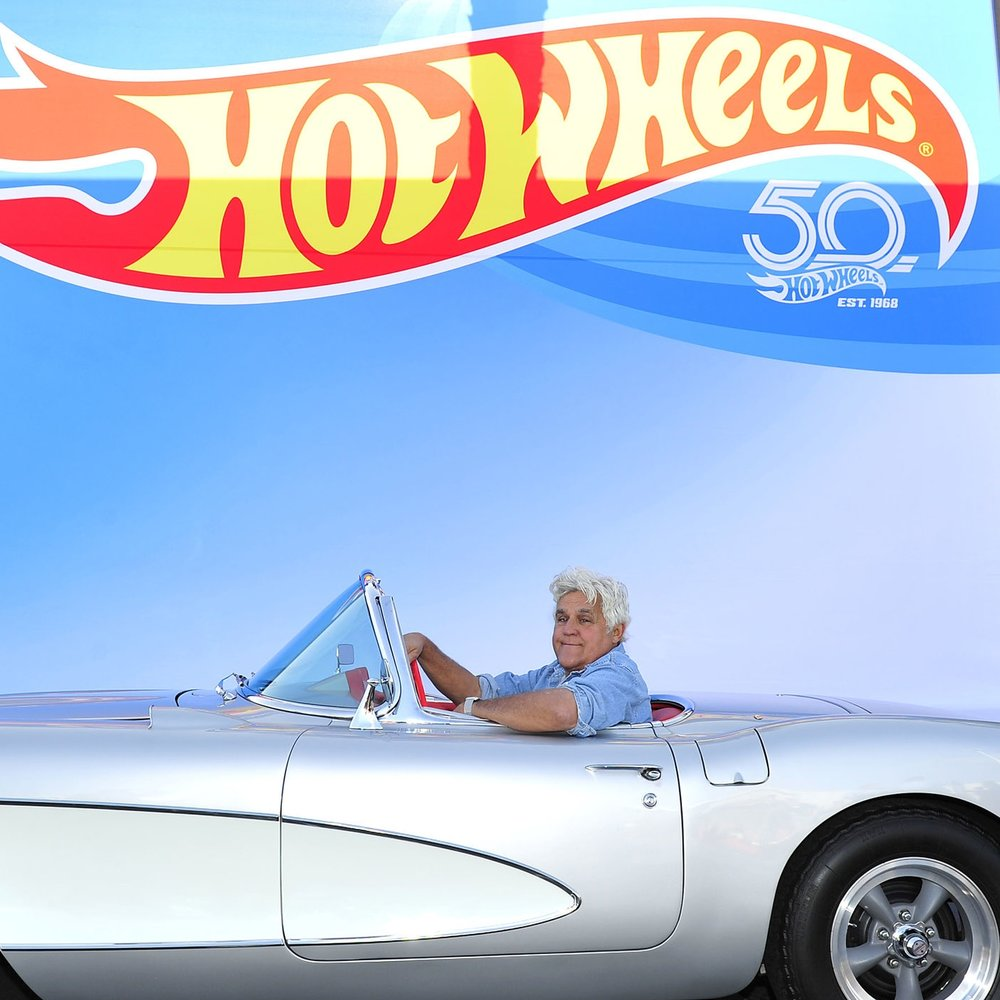 Jay Leno x Hot Wheels