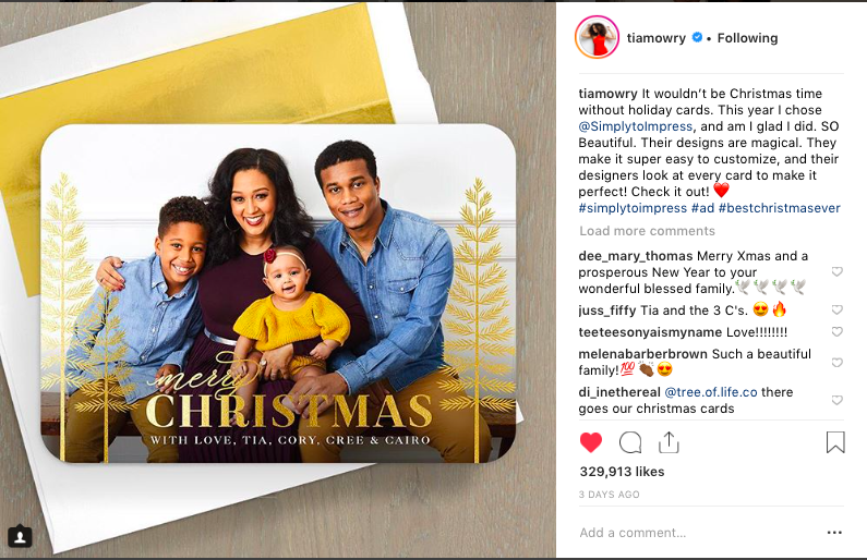 Tia Mowry x Simply to Impress