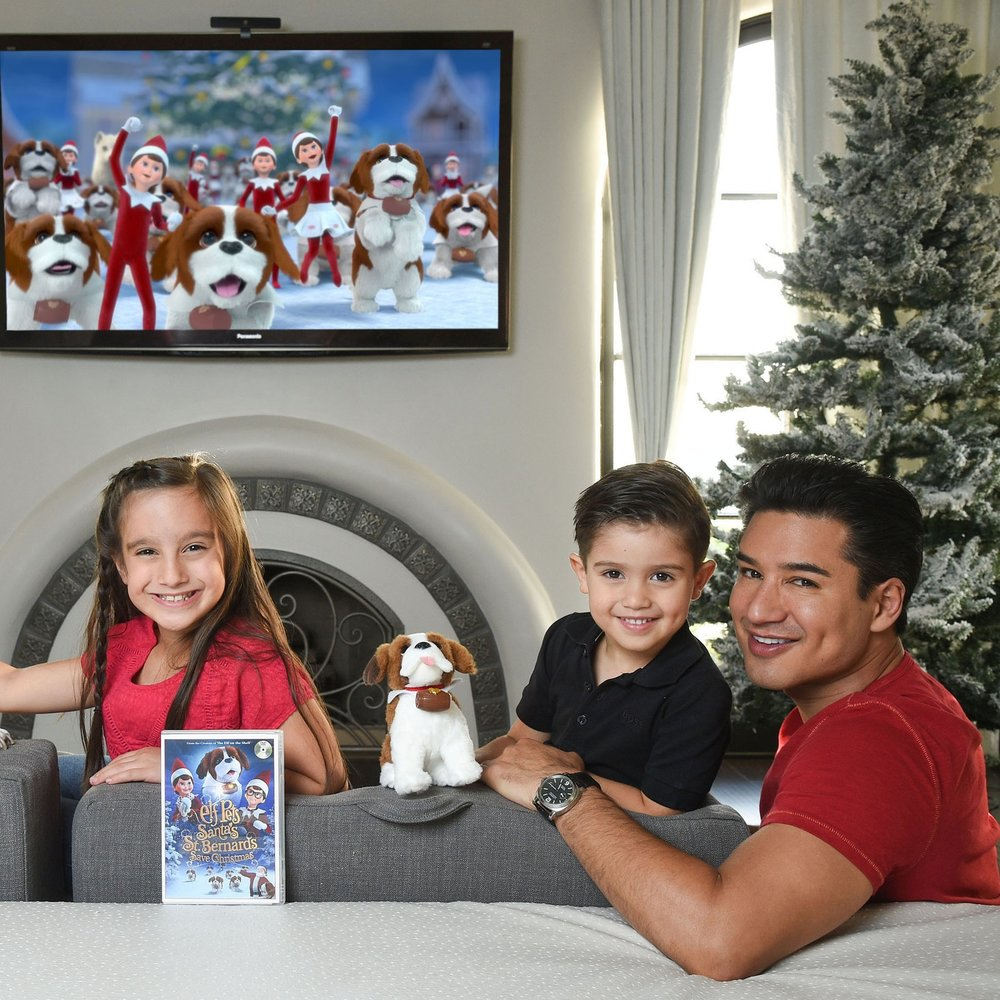 Mario Lopez x Elf On The Shelf