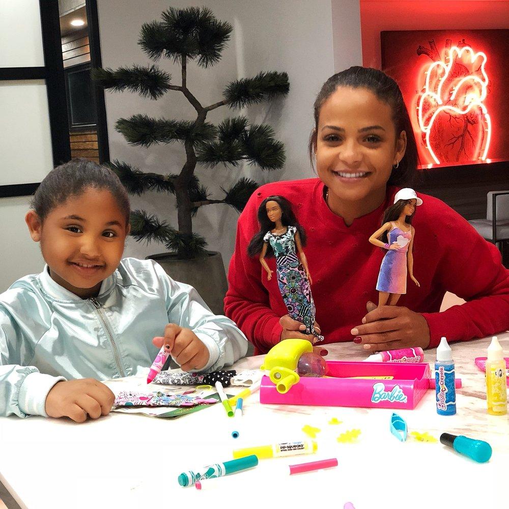 Barbie/Crayola
