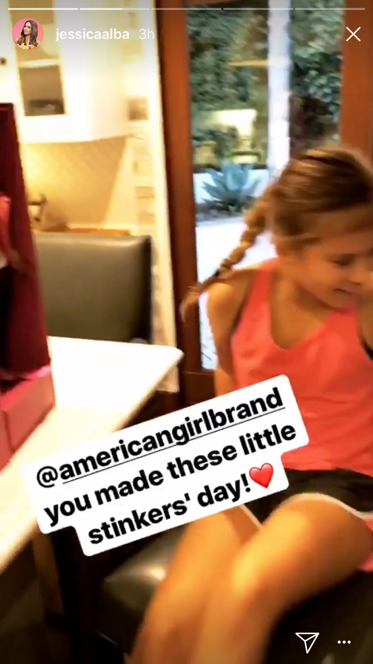 Jessica Alba x American Girl