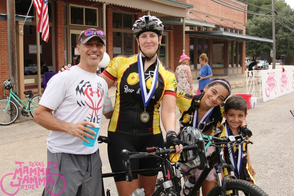 Julie Bullerman: Riding as a family for hope