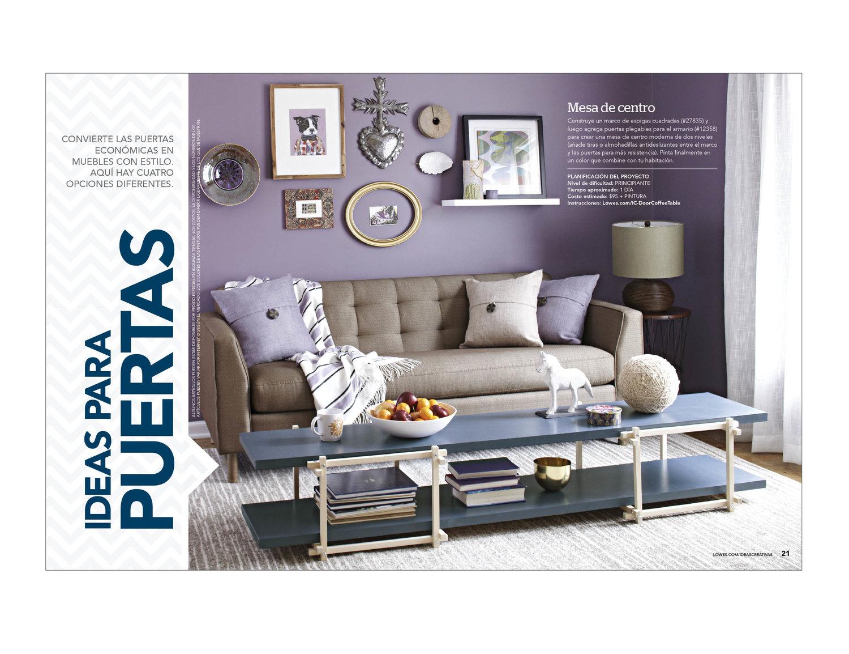 Lowe\'s Ideas Creativas Magazine — Gail Dixon\'s Portfolio