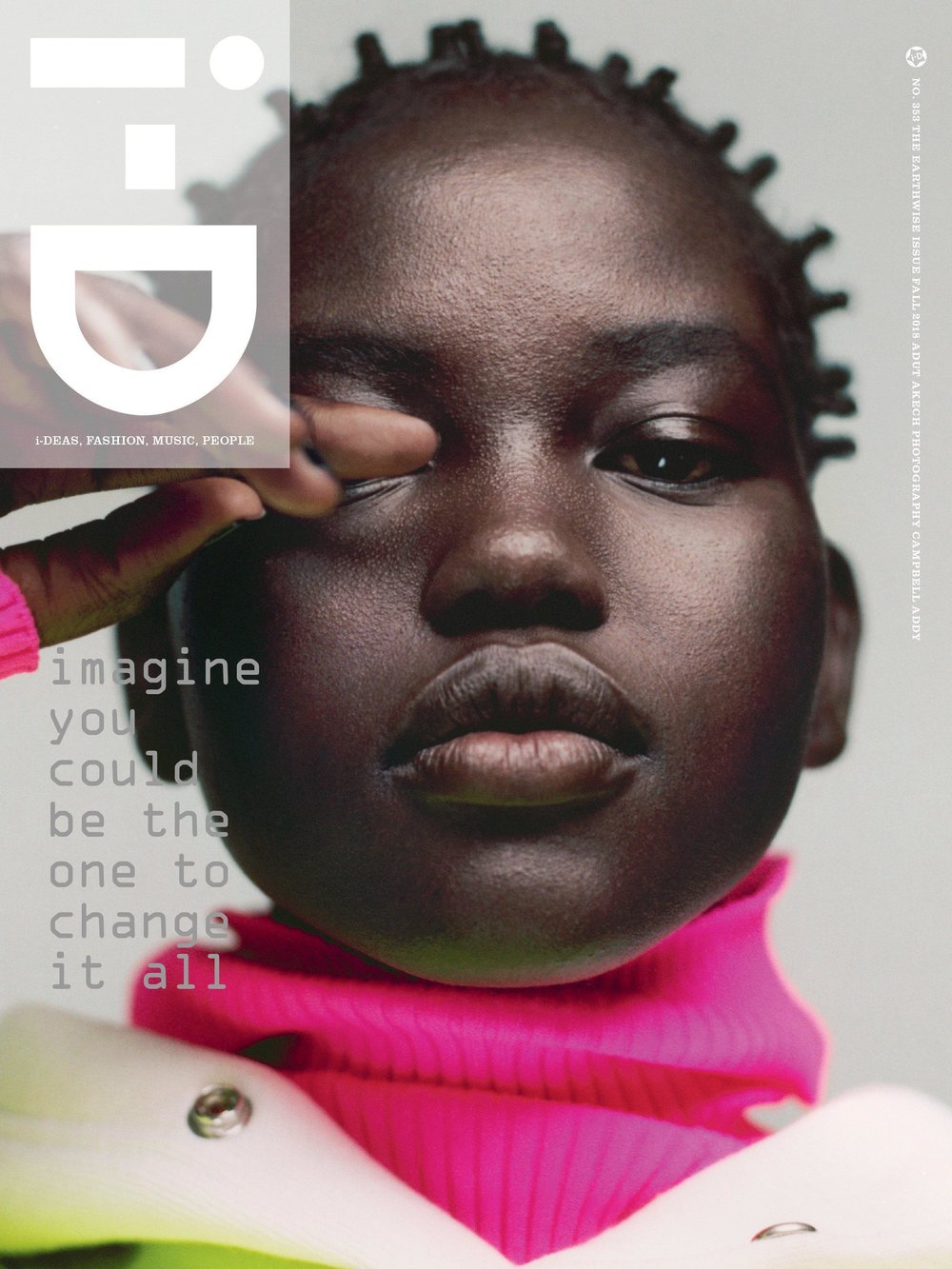 id magazine - i-D is a British bimonthly magazine dedicated to fashion, music, art and youth culture. i-D was founded by designer and former Vogue art director Terry Jones in 1980. The first issue was published in the form of a hand-stapled fanzine with text produced on a typewriter.