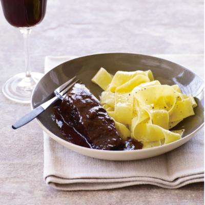 Easy Short Ribs Braised in Red Wine (Food+Wine)