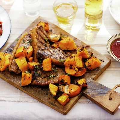 Picanha with Roasted Butternut Squash (Jamie Oliver)