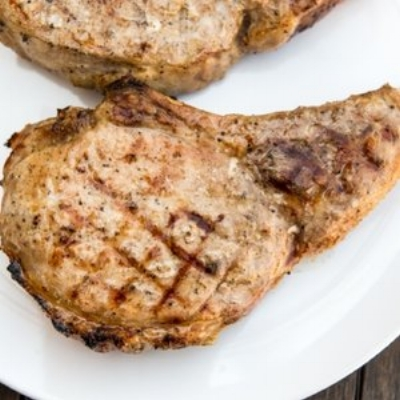 The Best Juicy Grilled Pork Chop (Serious Eats)