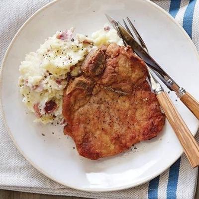 Pan Fried Pork Chop (Food Network