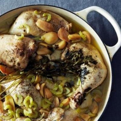 Chicken with 40 Cloves of Garlic (Food52)