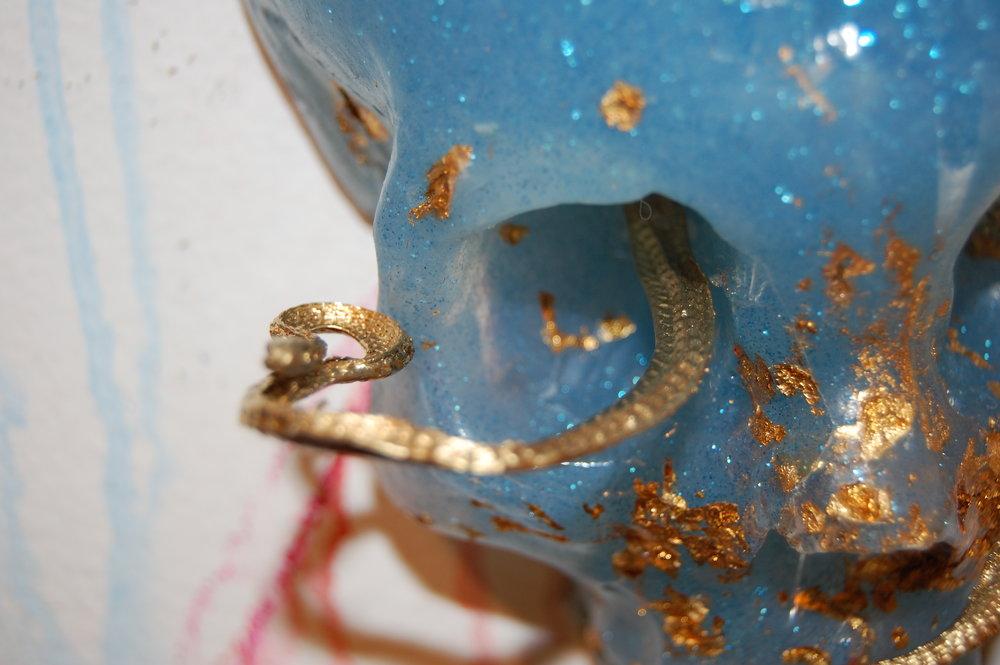 Gold Snake Skull.JPG