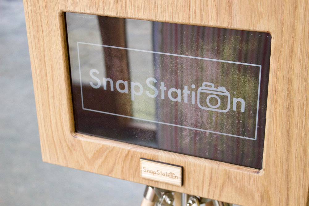 SnapStation offers a high quality touch screen display in our photo booths