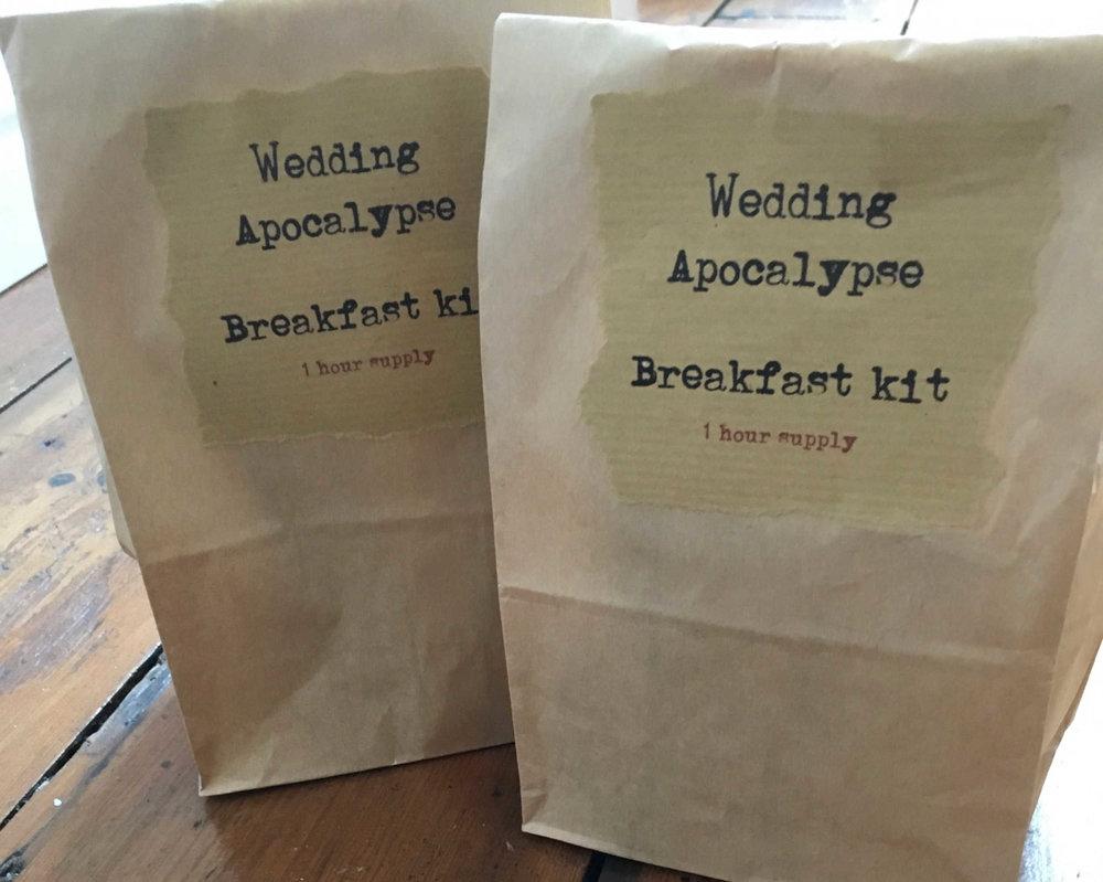 Wedding Breakfast kit.